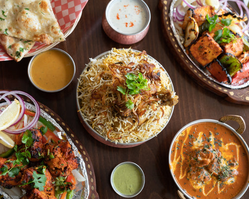 Click and Collect curry night at INDIdog, Falmouth. Cornwall