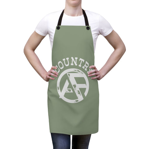 Apron - White Weathered Logo