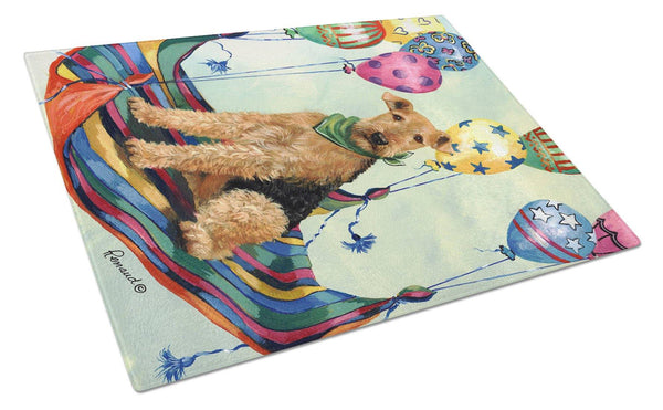 Buy this Airedale High Flyer Glass Cutting Board Large PPP3008LCB