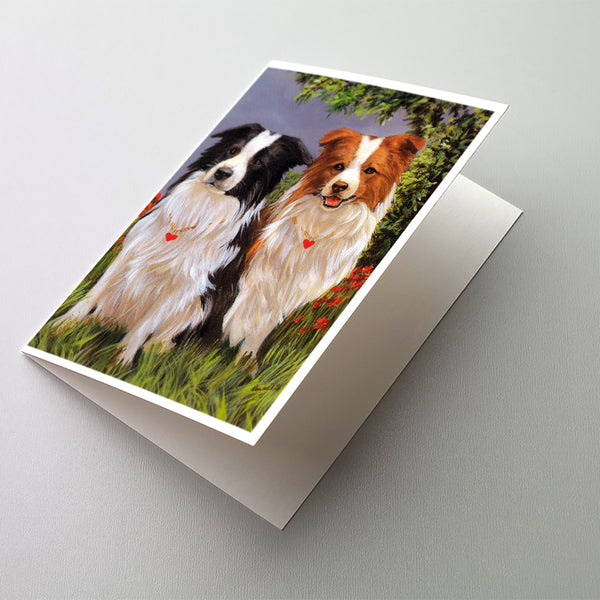 Buy this Border Collie Patrol Greeting Cards and Envelopes Pack of 8