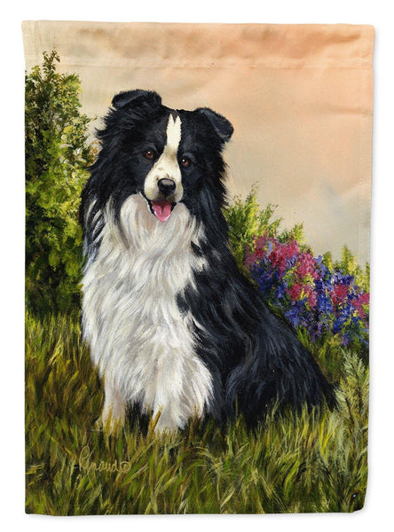 Buy this Border Collie Simplicity Flag Canvas House Size PPP3031CHF
