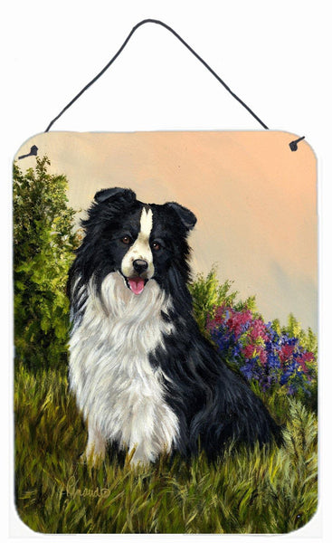 Buy this Border Collie Simplicity Wall or Door Hanging Prints PPP3031DS1216