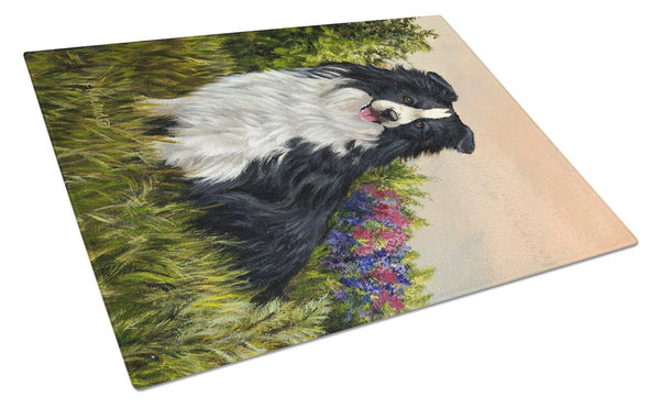 Buy this Border Collie Simplicity Glass Cutting Board Large PPP3031LCB