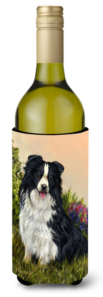 Buy this Border Collie Simplicity Wine Bottle Hugger PPP3031LITERK