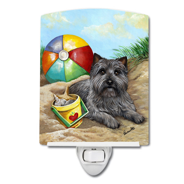 Buy this Cairn Terrier At the Beach Ceramic Night Light PPP3048CNL
