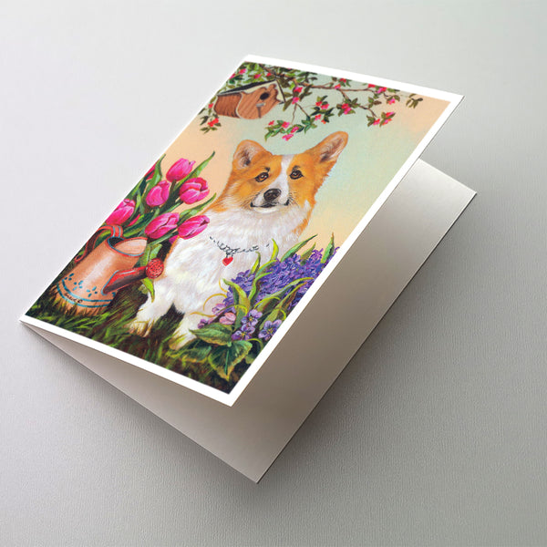 Buy this Corgi Sunshine Greeting Cards and Envelopes Pack of 8