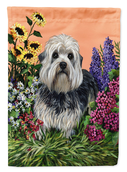 Buy this Dandie Dinmont Terrier Flag Canvas House Size PPP3089CHF