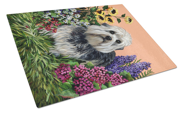 Buy this Dandie Dinmont Terrier Glass Cutting Board Large PPP3089LCB