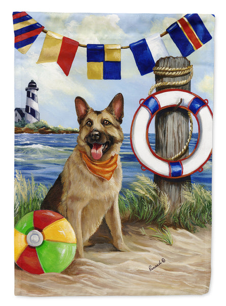 Buy this German Shepherd Life Saver Flag Canvas House Size PPP3099CHF