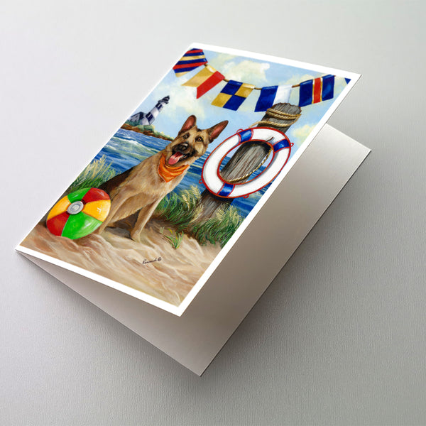 Buy this German Shepherd Life Saver Greeting Cards and Envelopes Pack of 8
