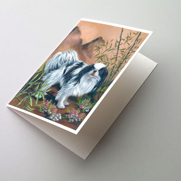Buy this Japanese Chin Greeting Cards and Envelopes Pack of 8