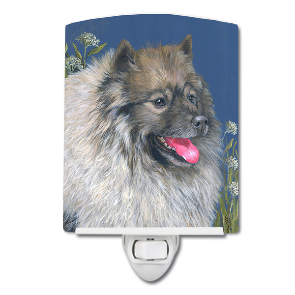 Buy this Keeshond Ceramic Night Light PPP3110CNL