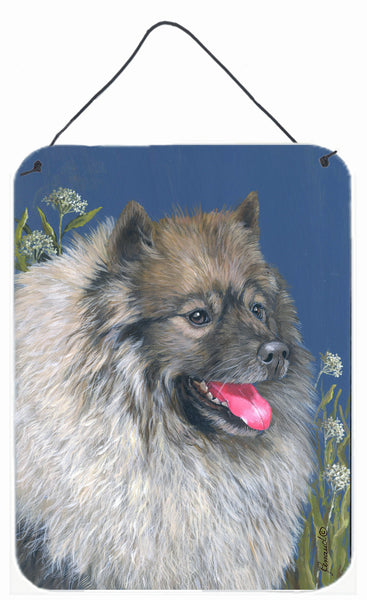 Buy this Keeshond Wall or Door Hanging Prints PPP3110DS1216