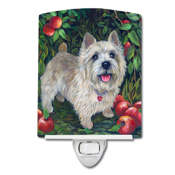 Buy this Norwich Terrier Apple Grove Ceramic Night Light PPP3116CNL