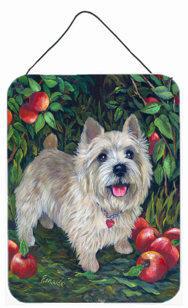 Buy this Norwich Terrier Apple Grove Wall or Door Hanging Prints PPP3116DS1216