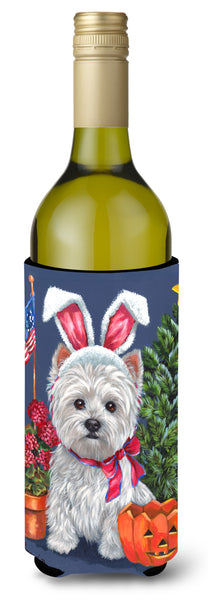 Buy this Westie for All Seasons Wine Bottle Hugger PPP3137LITERK