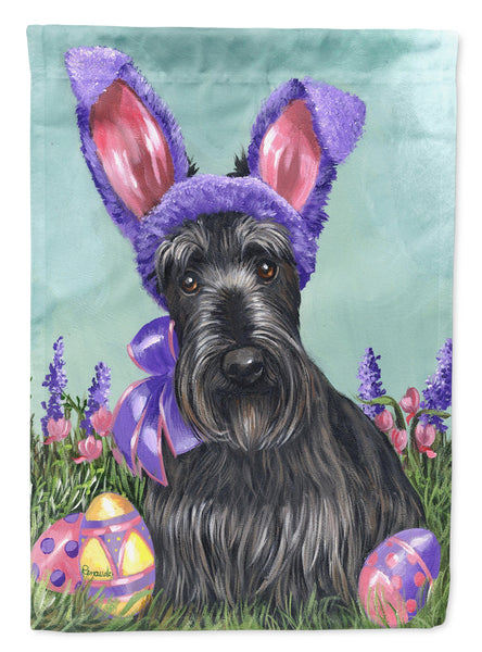 Buy this Scottie Easter Bunny Flag Garden Size PPP3172GF