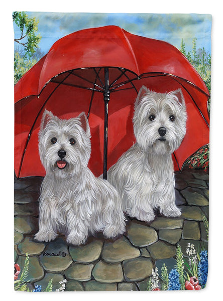 Buy this Westie April Showers Flag Garden Size PPP3198GF