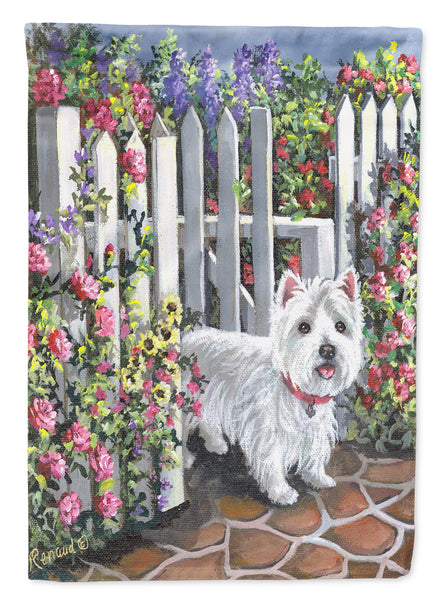 Buy this Westie At the Gate Flag Garden Size PPP3199GF