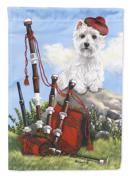 Buy this Westie Piper Flag Garden Size PPP3222GF