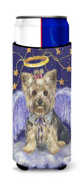 Buy this Yorkie Christmas Angel Ultra Hugger for slim cans PPP3243MUK