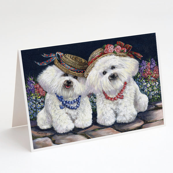 Buy this Bichon Frise Sisters Greeting Cards and Envelopes Pack of 8
