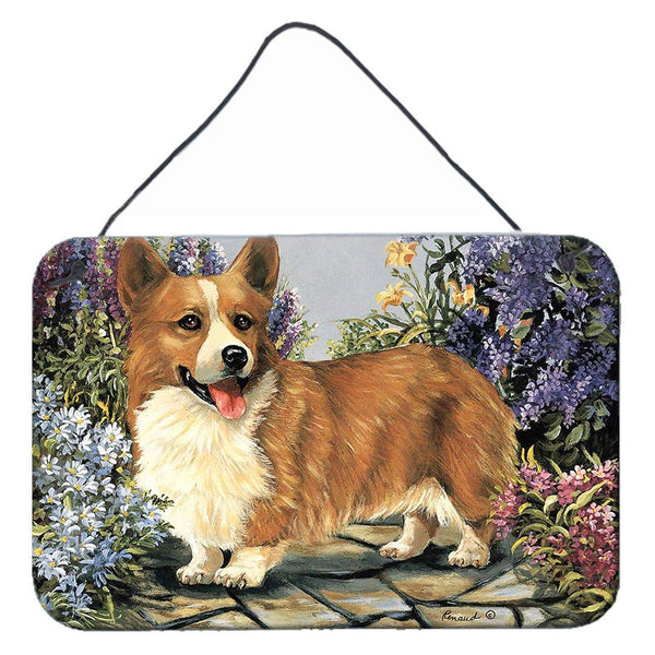 Buy this Corgi Garden Georgi Wall or Door Hanging Prints PPP3258DS812