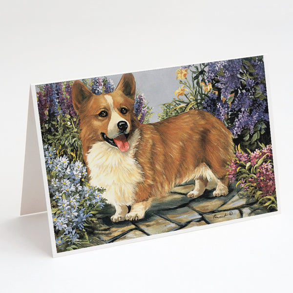 Buy this Corgi Garden Georgi Greeting Cards and Envelopes Pack of 8