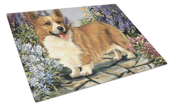Buy this Corgi Garden Georgi Glass Cutting Board Large PPP3258LCB