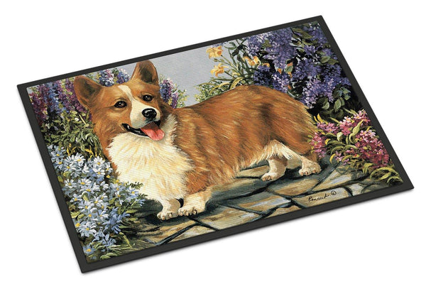 Buy this Corgi Garden Georgi Indoor or Outdoor Mat 18x27 PPP3258MAT