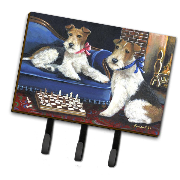 Buy this Fox Terrier Checkmates Leash or Key Holder PPP3261TH68