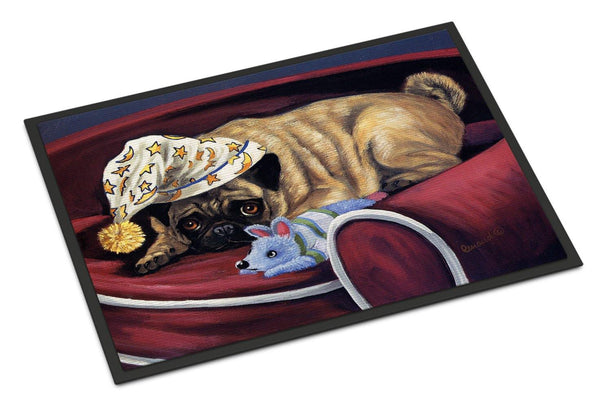 Buy this Pug Goodnight Sweetheart Indoor or Outdoor Mat 18x27 PPP3269MAT