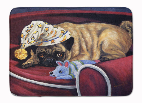 Buy this Pug Goodnight Sweetheart Machine Washable Memory Foam Mat PPP3269RUG