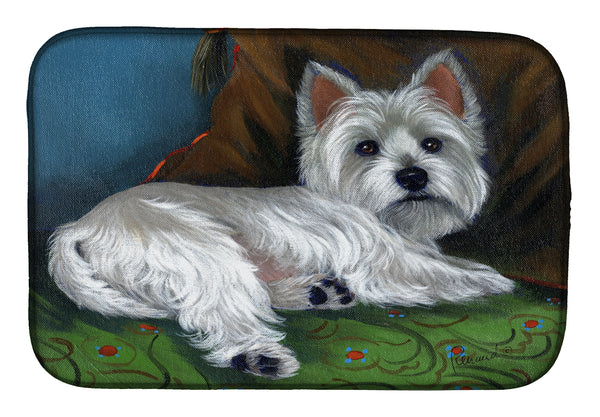 Buy this Westie Wake Up Dish Drying Mat PPP3287DDM