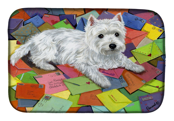 Buy this Westie Zoe's Mail Dish Drying Mat PPP3289DDM