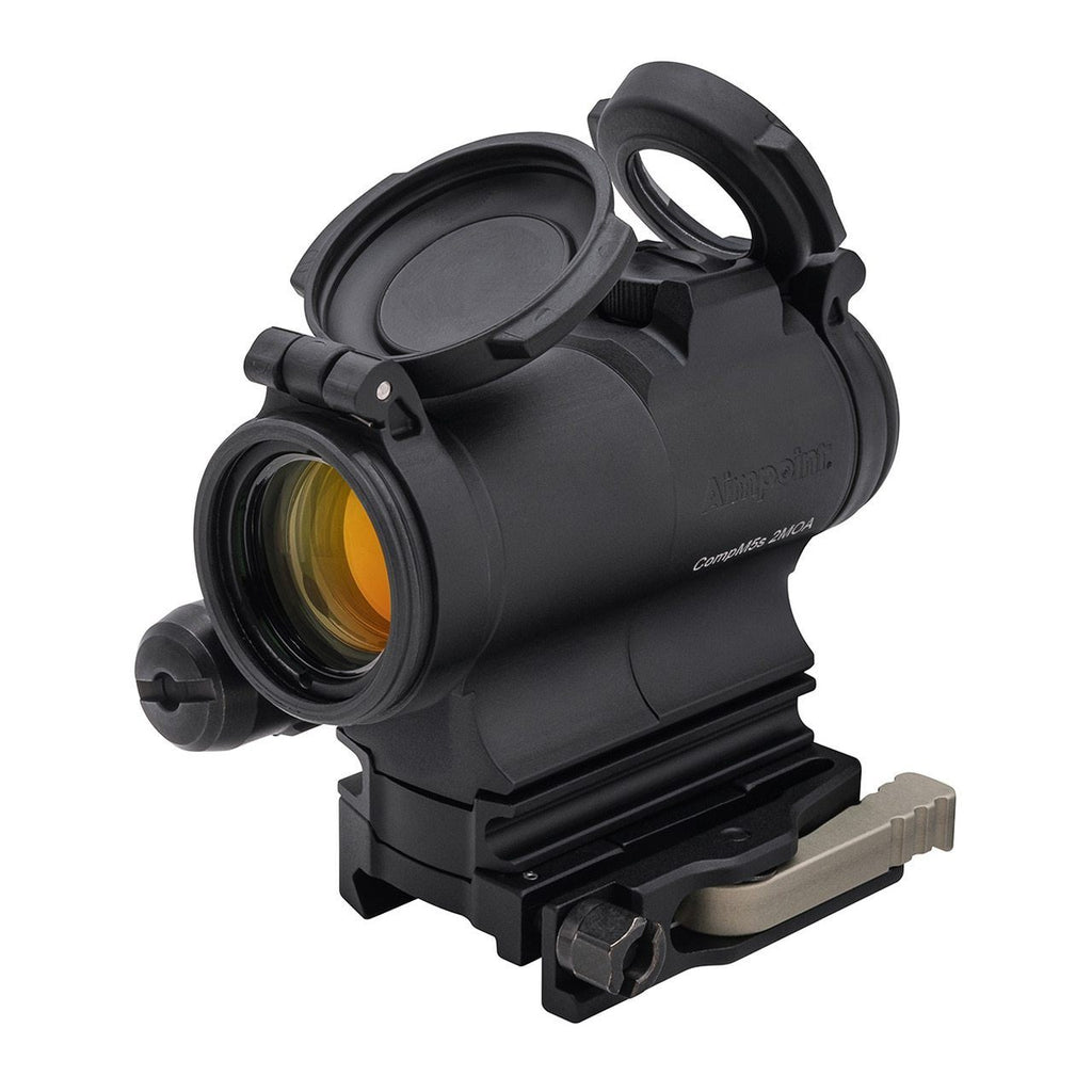 Aimpoint CompM5S Red Dot Sight 2 MOA Dot Picatinny-Style Mount with LRP 39mm Spacer 200500 Red Dot Sight Aimpoint | D&R Sports Center