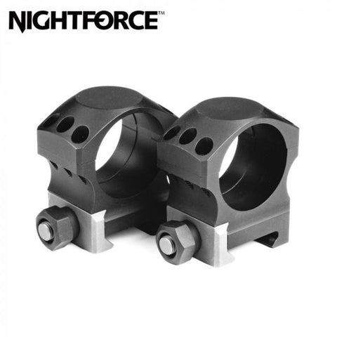 "NightForce Ultralite Rings Set 0.885"" Low 30mm 6 Screw A264 Scope Rings NightForce 