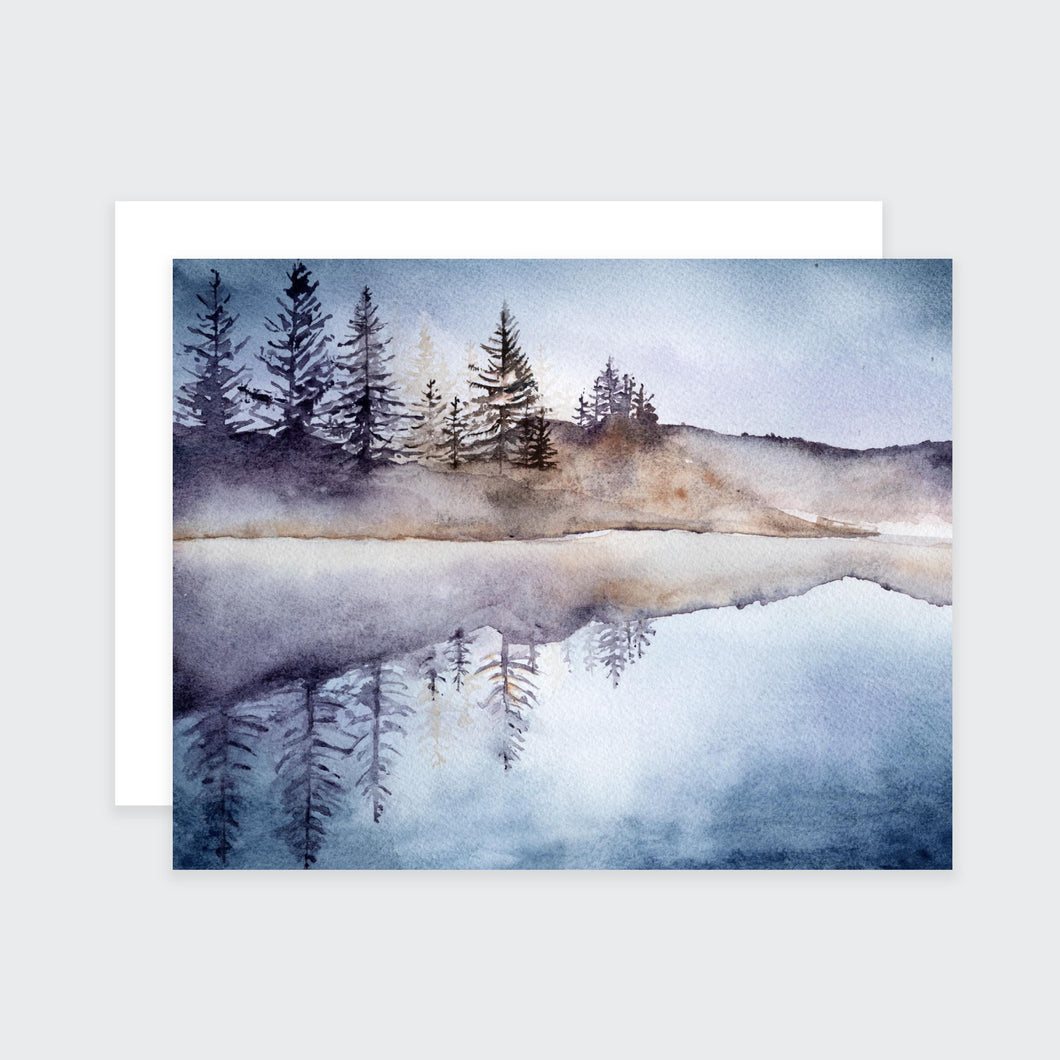 Mountain Lake Notecard Set