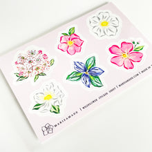 Load image into Gallery viewer, Wildflower Sticker Sheet