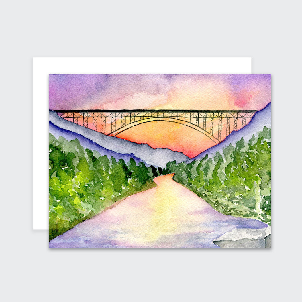 New River Gorge Notecard Set