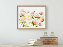 Load image into Gallery viewer, Set of 2 Pink Peonies Art Prints