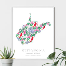Load image into Gallery viewer, West Virginia State Flower Art Print