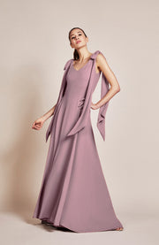 Seville bridesmaids dress in heather by Rewritten