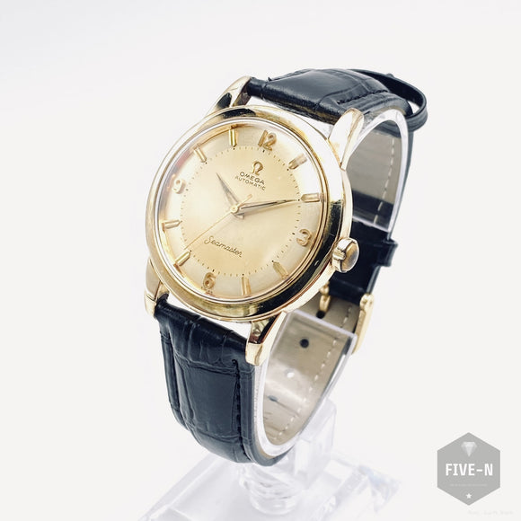 OMEGA Seamaster 14KGF 1950's オメガ・シーマスター(Pre-Owned)