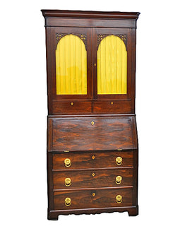 American Rosewood Secretary Dated 1861
