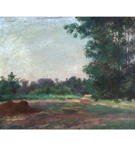 Minerva Chapman Oil on Canvas Impressionist Landscape