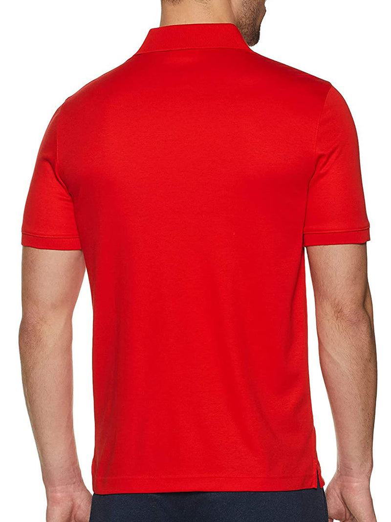 Polo K10K103378 SOFT INTERLOCK CHEST Rosso
