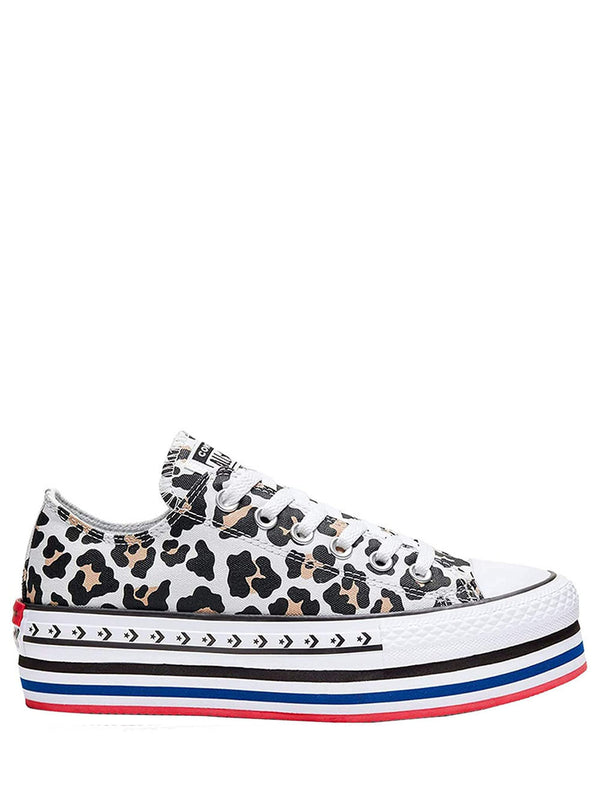 Sneakers 566764C PLATFORM LAYER Animalier