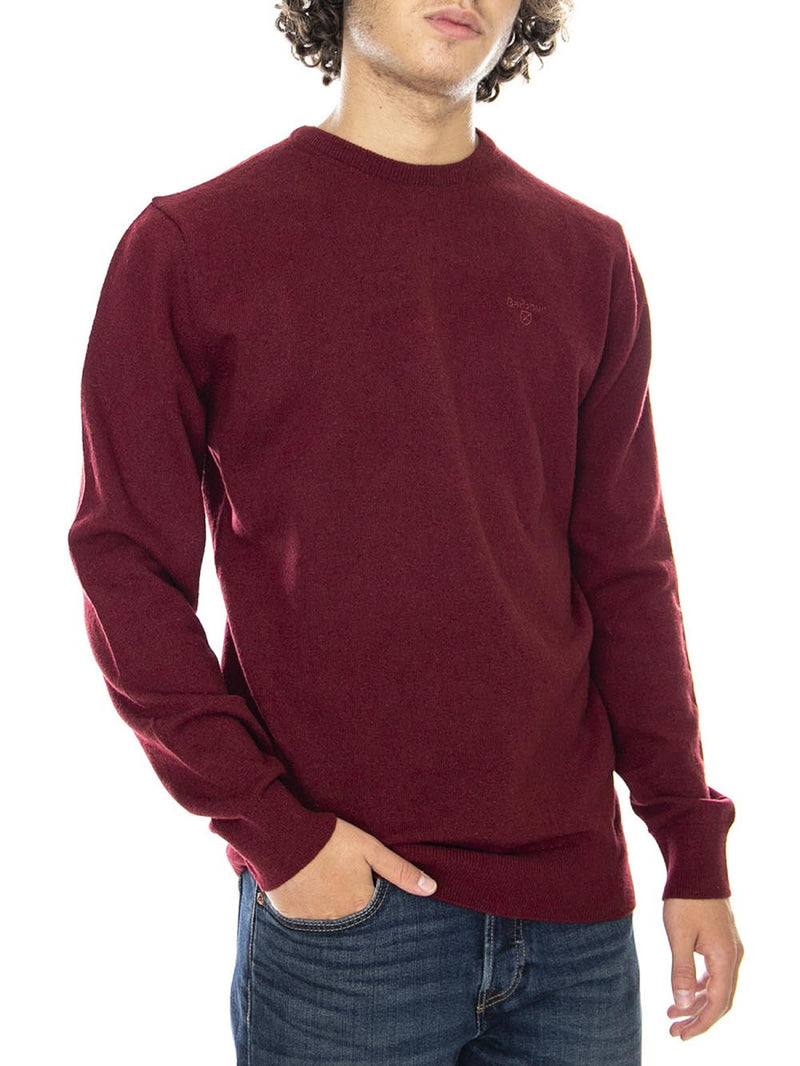 Maglia MKN0345 ESSENTIAL LAMBSWOOL CREW NECK Bordeaux