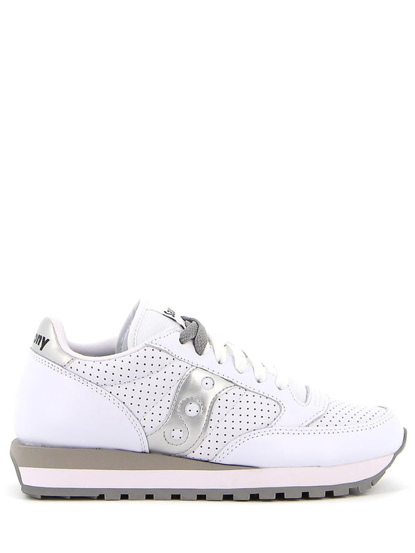 Sneakers JAZZ S60243 Bianco/silver